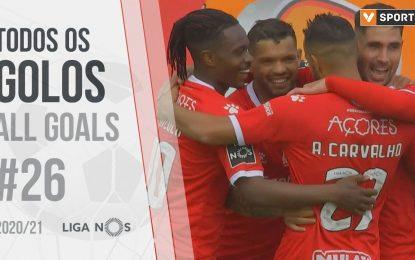 Todos os golos da jornada (Liga 20/21 #26)