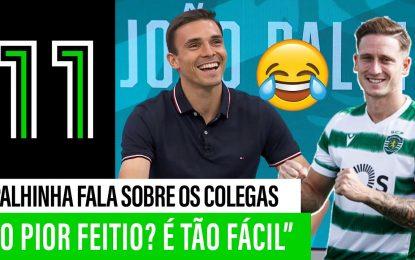 """João Palhinha """"denuncia"""" os colegas do Sporting 😅"""