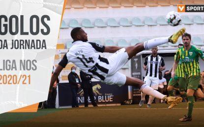 Liga 2020/21: Os 34 golos da jornada