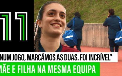 Mãe e filha jogam futebol… NA MESMA EQUIPA!