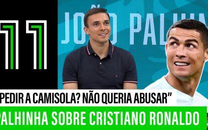 """Palhinha sobre Cristiano Ronaldo: """"Não sabia se havia de pedir a camisola"""""""