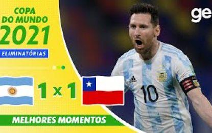 Vídeo: Bravo e o ferro tiram a vitória a Messi