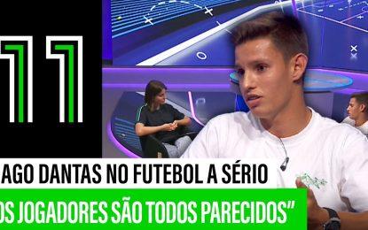 """Fábio Silva sobre Diogo Leite: """"Estava num patamar acima"""""""