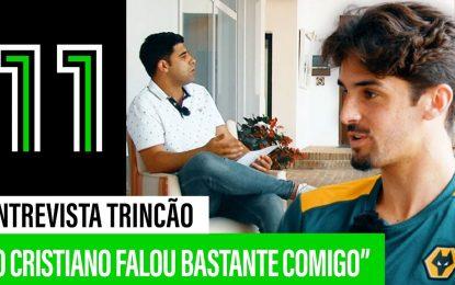 Trincão fala sobre Ronaldo, Bruno Lage, Seleção e Vianense