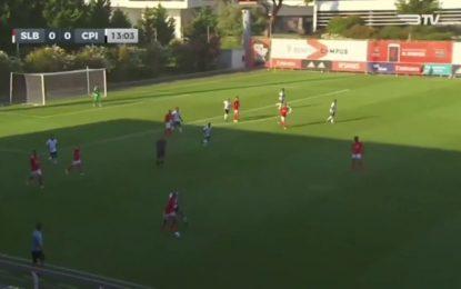 Vídeo: A jogada de João Mário que deixou os adeptos do Benfica com água na boca
