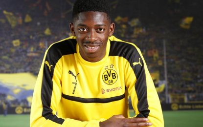 VÍDEO: Ainda não é oficial, mas já treina pelo Dortmund