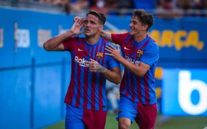Vídeo: Estava a ser dado como certo no Famalicão mas fez hoje um hat-trick e o Barcelona pode ter mudado de ideias