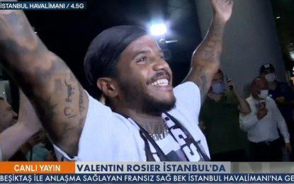 VÍDEO: Rosier recebido de forma eufórica em Istambul