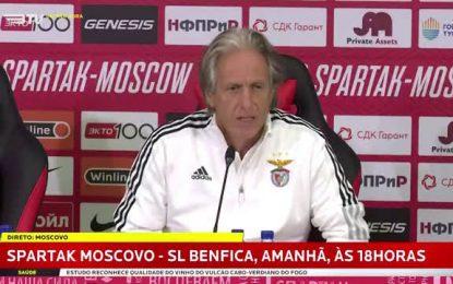 Vídeo: Jesus fala da saída de Vieira e explica diferença de apanhar Rui Vitória depois de ter sido eliminado por Abel