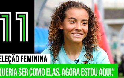 Alícia Correia: A Mais Jovem da Seleção Feminina