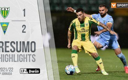Golo da Jornada (Liga 21/22 #5): Boselli (CD Tondela)