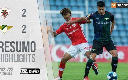 Highlights   Resumo: Moreirense 2-2 Famalicão (Liga 21/22 #5)