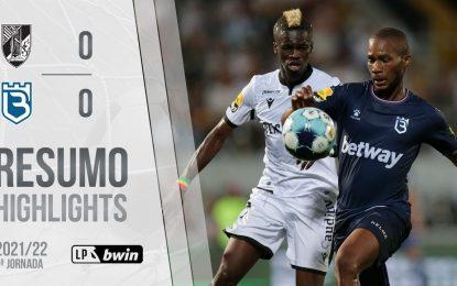 Highlights   Resumo: Vitória SC 0-0 Belenenses SAD (Liga 21/22 #5)
