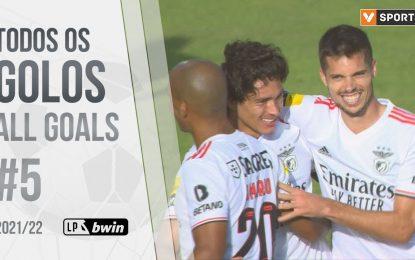 Todos os golos da jornada (Liga 21/22 #5)