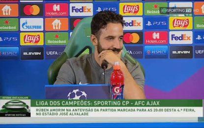 Vídeo: Amorim aponta o objetivo do Sporting nesta Champions
