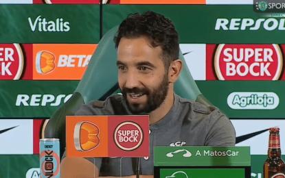 Vídeo: Amorim diz o que Sarabia pode acrescentar ao Sporting