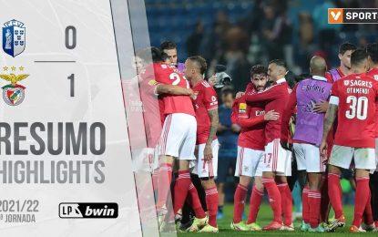 Highlights   Resumo: FC Vizela 0-1 Benfica (Liga 21/22 #9)
