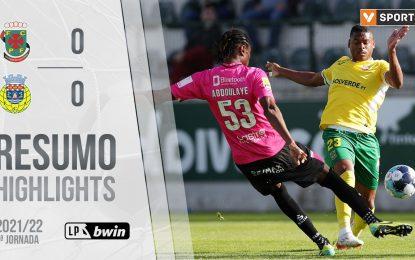 Highlights   Resumo: Paços de Ferreira 0-0 FC Arouca (Liga 21/22 #9)