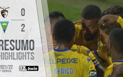 Highlights   Resumo: Portimonense 0-2 Estoril Praia (Liga 21/22 #9)