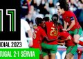 SNA Fem.: Portugal 2-1 Sérvia
