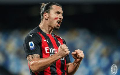 Vídeo: Ibrahimovic (40 anos) marca na Serie A e supera Totti